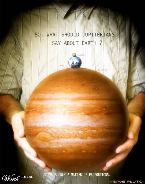Então o que os jupiterianos dirão sobre a Terra?