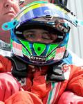 Felipe Massa logo após o forte acidente no treino para o GP da Hungria