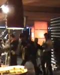 Rafinha Bastos brigando com Marco Luque