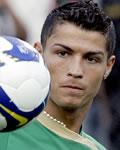 Cristiano Ronaldo treinando