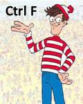 Onde está Wally? Ctrl+F nele!