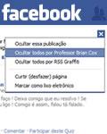 Ocultando amigos no Facebook