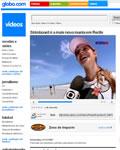 Vídeos da Globo na Globo.com