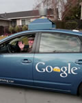 O carro do Google literalmente automático
