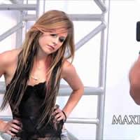 Vídeo: Ensaio da Avril Lavigne para a Revista Maxim