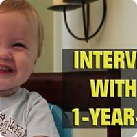 Vídeo: Entrevistando um bebê