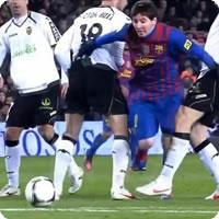 Vídeo: Messi não é brasileiro e mesmo assim não desiste nunca!