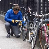 Vídeo: O ladrão de bicicletas em Nova York