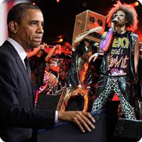 Vídeo: Barack Obama cantando Sexy and I Know It do LMFAO