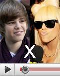 Justin Bieber vs. Lady Gaga
