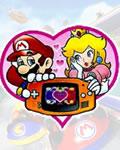 Mario e princesinha apaixonados