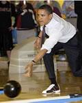 Barack Obama também joga Boliche