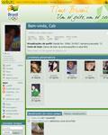 Tema olímpico no orkut