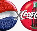 Pepsi contra a Coca-Cola