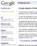 Portal Cab + Google