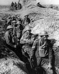 Exército francês nas trincheiras