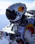 Felix Baumgartner antes de seu salto teste no projeto Red Bull Stratos