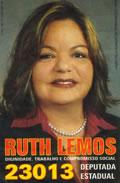 Santinho da Ruth Lemos