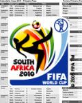 Tabela dos jogos da Copa do Mundo 2010