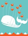 A famosa baleia do Twitter