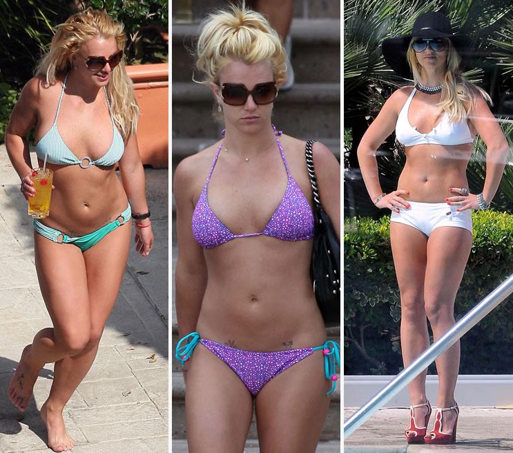 Britney Spears de biquíni