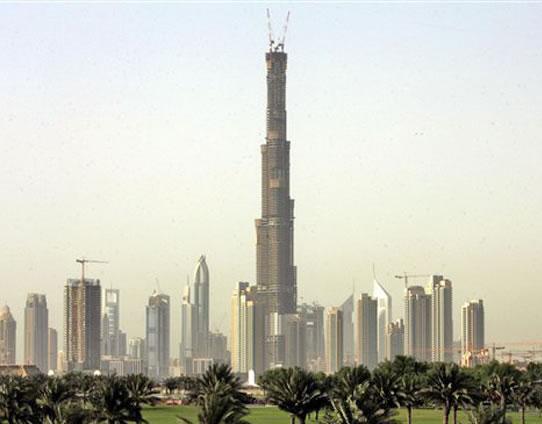 Burj Dubai - A maior construção vertical do mundo