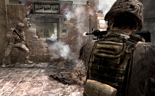 Screenshot Call Of Duty 4: Modern Warfare