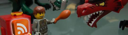 Legos também alimentam seus amigos